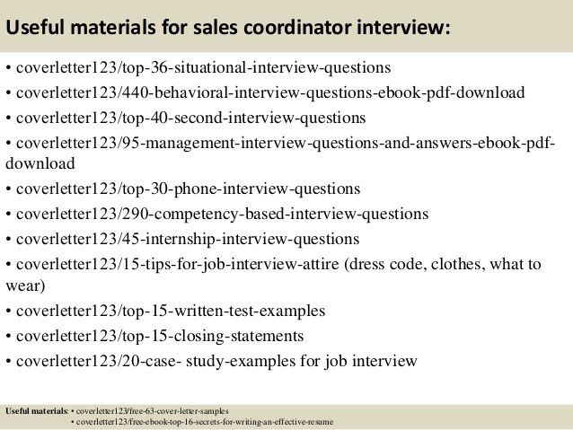 5 top job search materials for hotel sales coordinator. sales ...