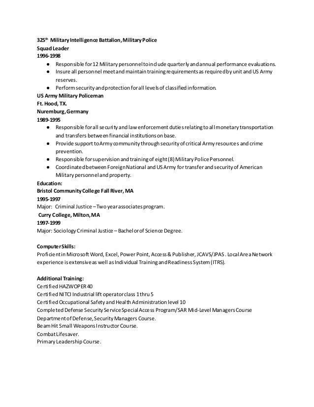 Sean Murphy Senior Analyst Resume