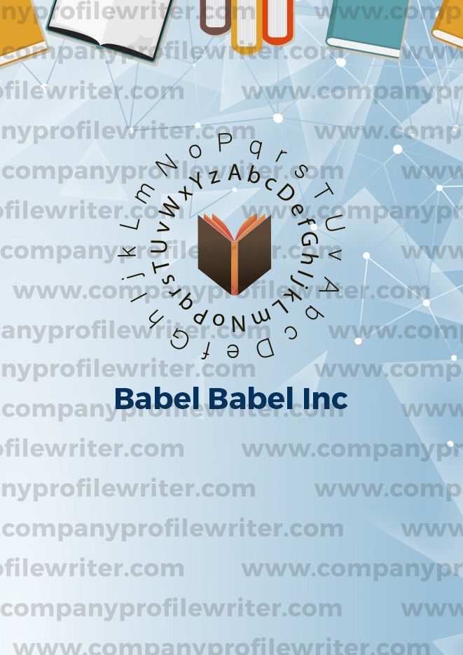 Company Profile Samples Online | Company Profile Writer