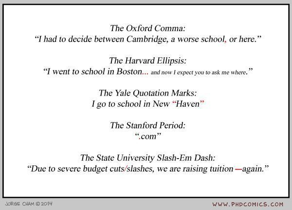 The Oxford Comma and Other Punctuation Marks - Neatorama