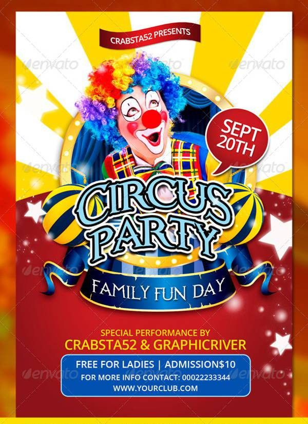 10+ Circus Flyer Templates | Free & Premium Templates