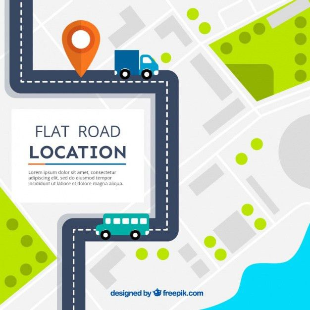 Road Map Vectors, Photos and PSD files | Free Download