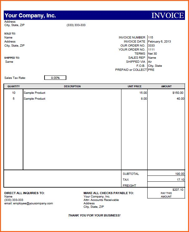 7+ free invoicing software - Budget Template Letter