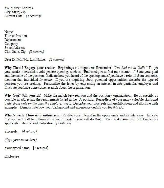 graduate covering letter examples