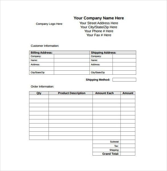 8+ Sample Receipt Templates - Free Samples , Examples , Format