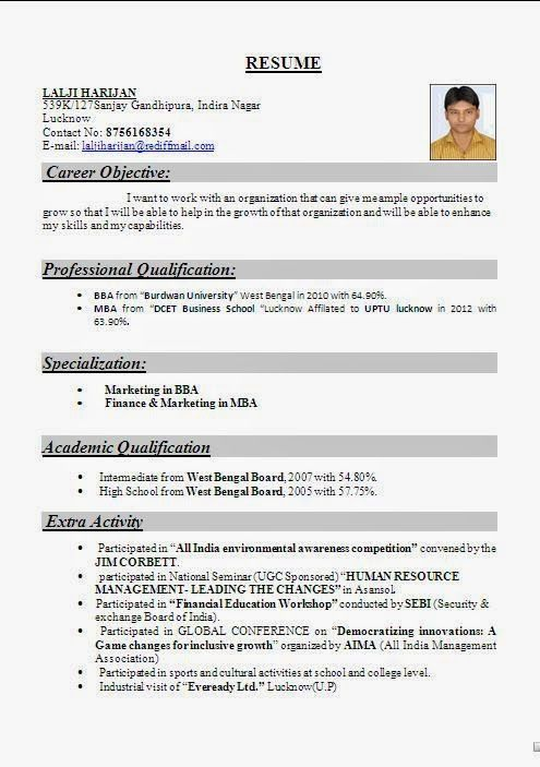 Best 25+ Resume format for freshers ideas on Pinterest | Resume ...