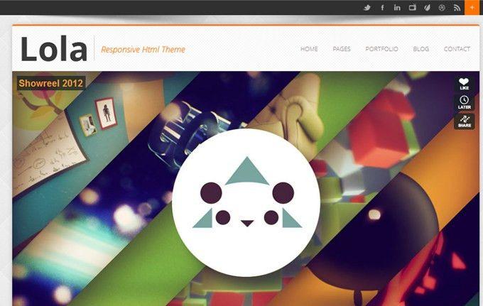 25+ Free Html5 Templates - DesignGrapher.Com