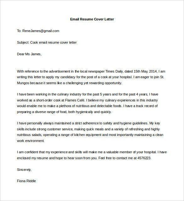 coffee shop attendant cover letter summary examples for resumes ...
