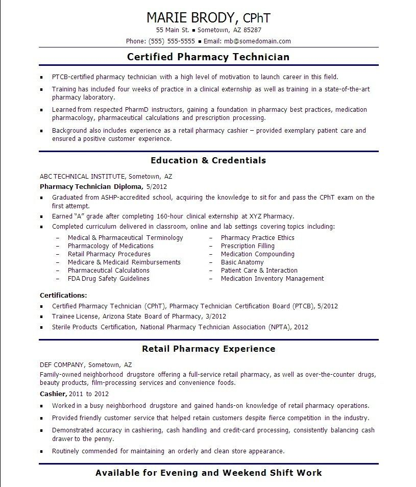 Sterile Processing Technician Resume Sample - Gallery Creawizard.com