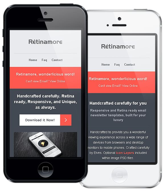 Retinamore - Responsive Email Newsletter Template by Bedros ...