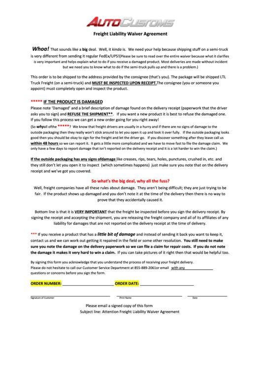 Awesome Waiver Templates Free Pictures - Best Resume Examples for ...