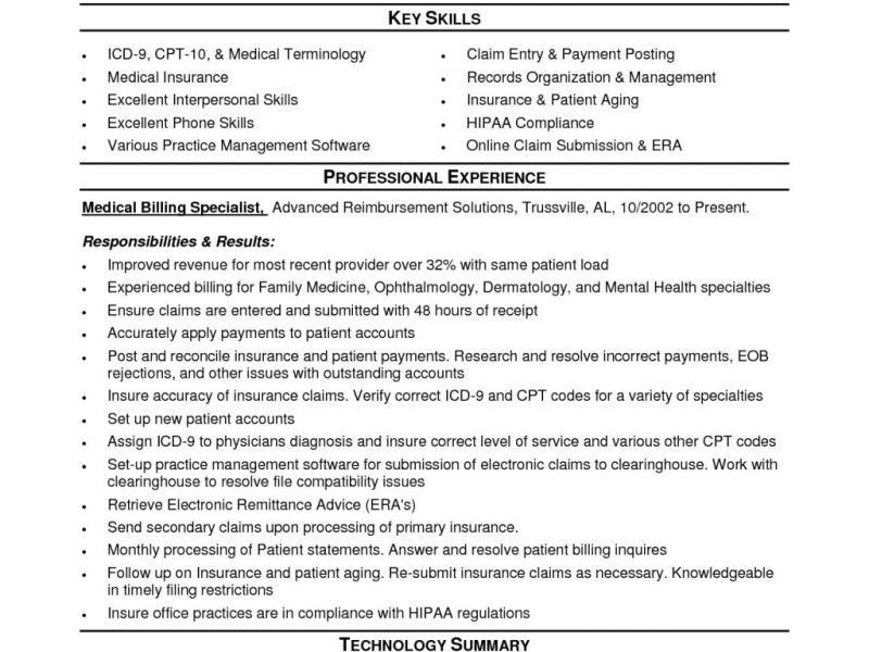 Cheerful Medical Coding Resume 6 Resume Examples Medical Coding ...