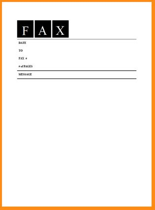 14+ fax cover sheet free printable - Basic Job Appication Letter