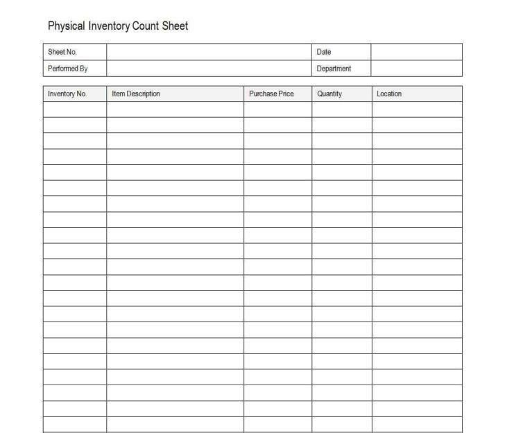 Inventory Spreadsheet For Office Supplies | HAISUME