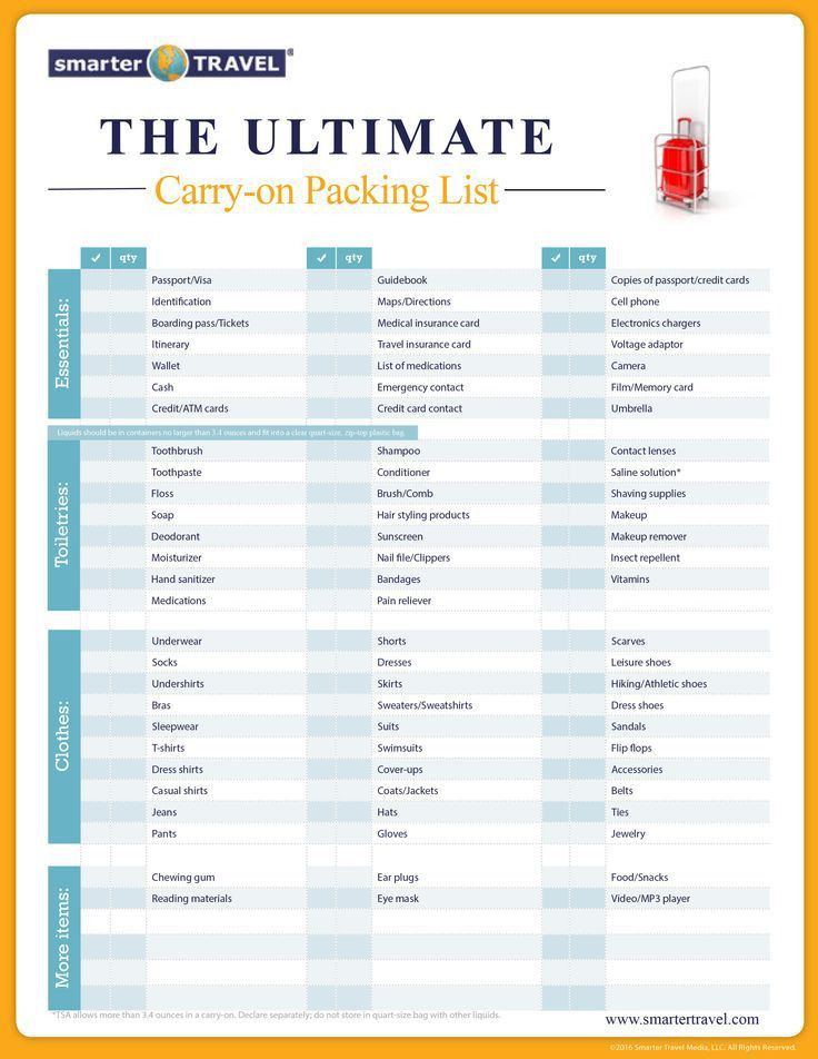 Best 25+ Packing lists ideas on Pinterest | Packing list for ...