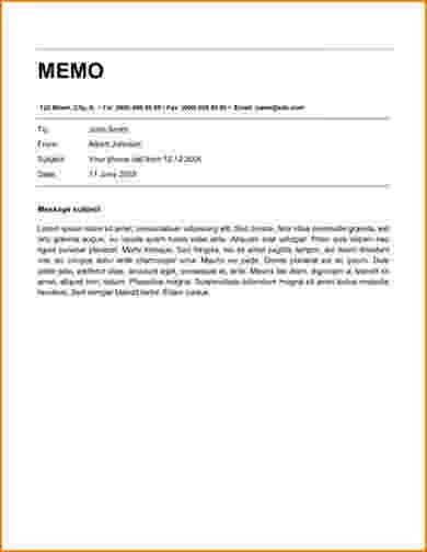 8+ memorandum template word | bibliography format