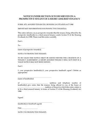 UK Landlord and Tenant Notice Forms | Legal Forms and Business ...