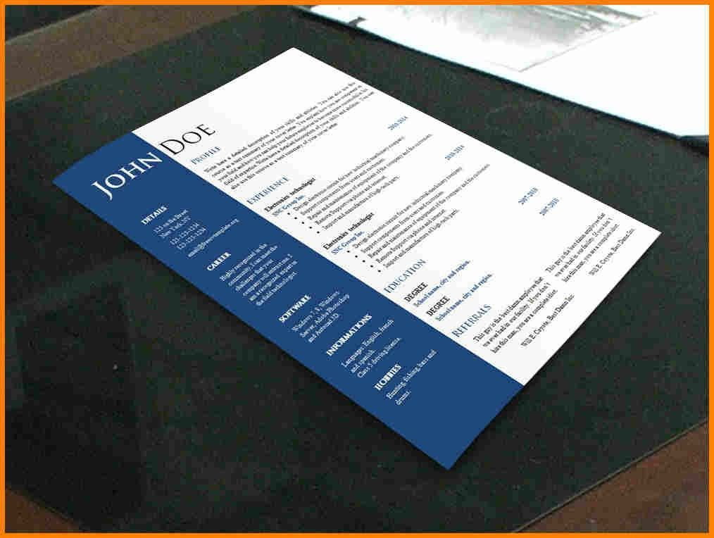 10+ free creative resume templates word | budget template