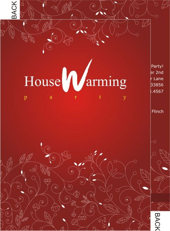 House Warming Invitation Cards| Printable | India