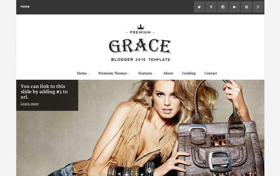 45+ Free Blogger Templates 2015 | Graphic Design Inspiration