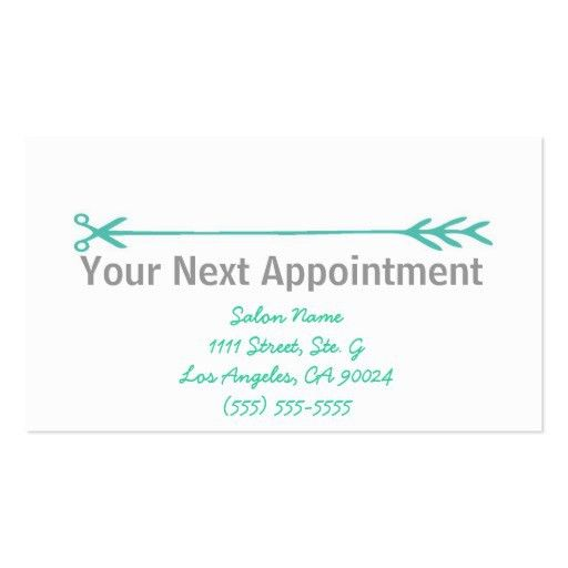 Appointment Reminder Template. Appointment Reminder Card Template ...