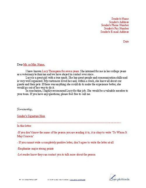 reference letter for employee - Google 搜索 | fashion resume ...
