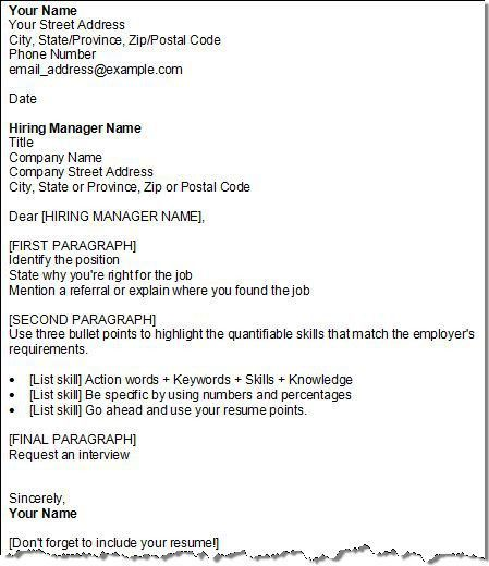 sample cover letter for no job posting resume education for jobs ...
