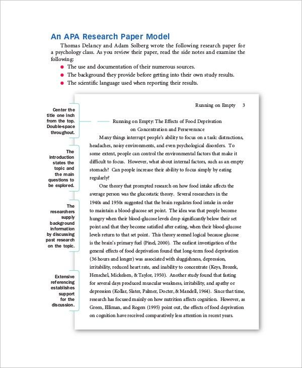 Sample Paper - 41+ Examples in Word, PDF