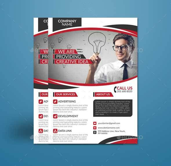 40+ Best Free Business Flyer Templates PSD Download