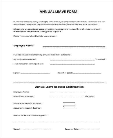 Employee Leave Application Form 65 | Samples.csat.co