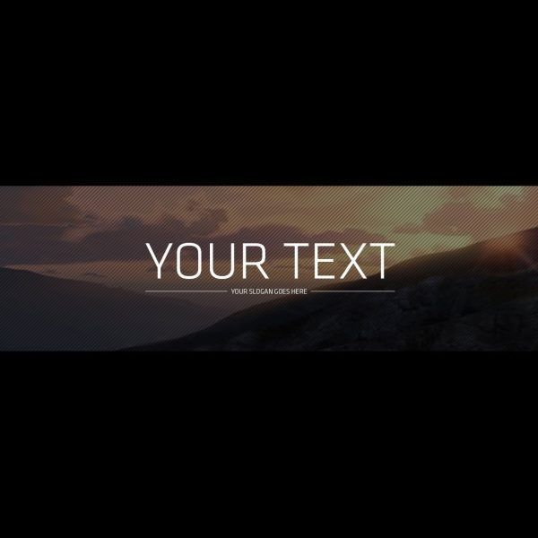 Youtube Banner Template Psd!- Free Download – Youtube for Free ...