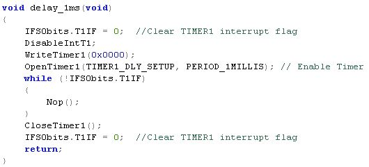 How to write a software-delay C function for the Microchip PIC32 ...