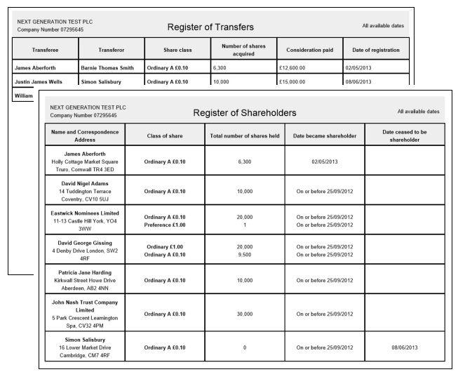 Transfer of shares: easy shareholder transfers and company ...