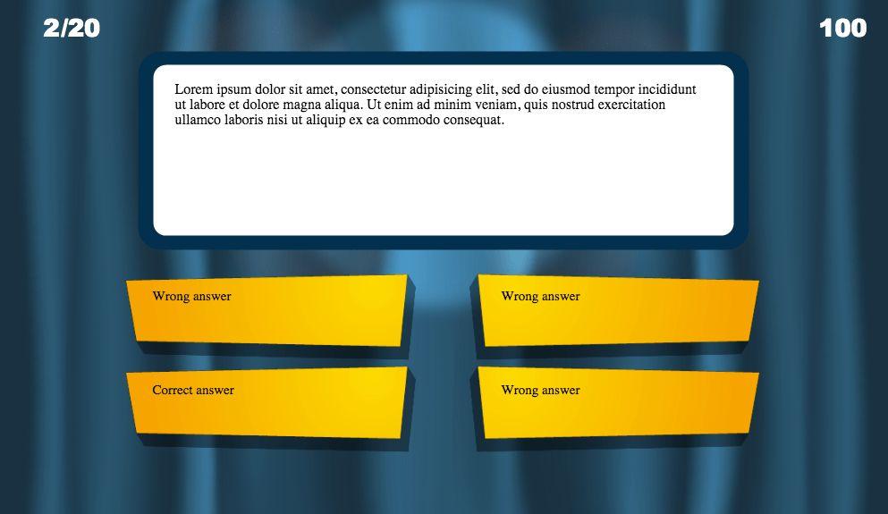 free quiz template