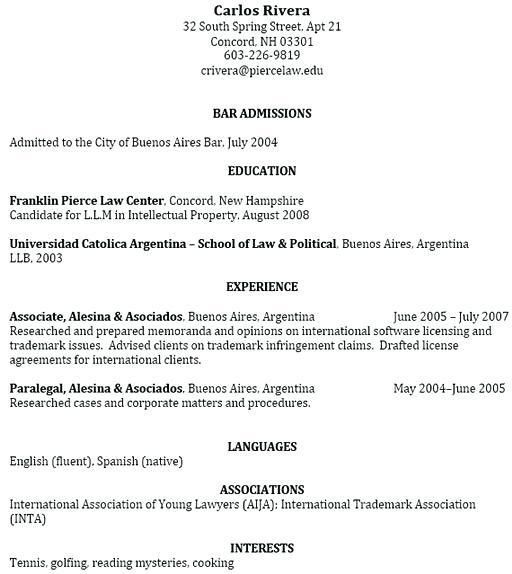 Graduate Admission Resume Sample. latex templates curricula vitae ...