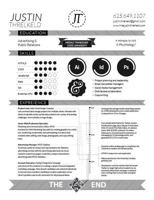 188 best GD: Creative Resumes images on Pinterest | Cv design ...