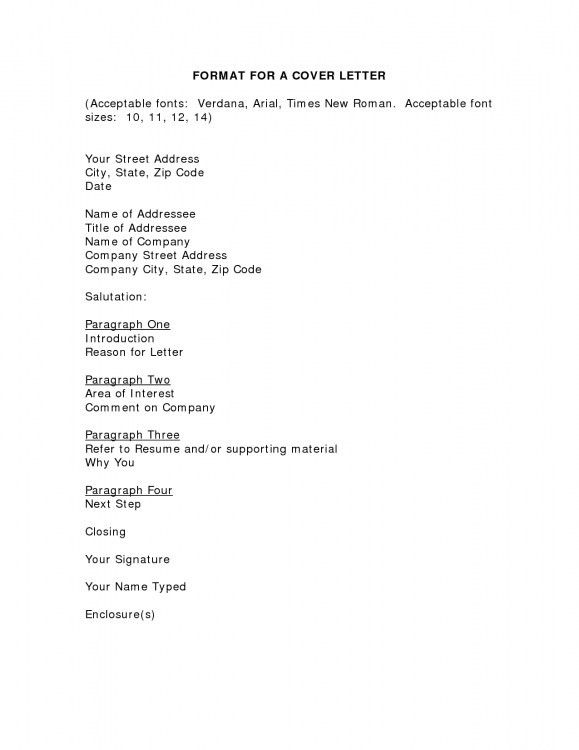 font size cover letter cover letter font size and spacing cover