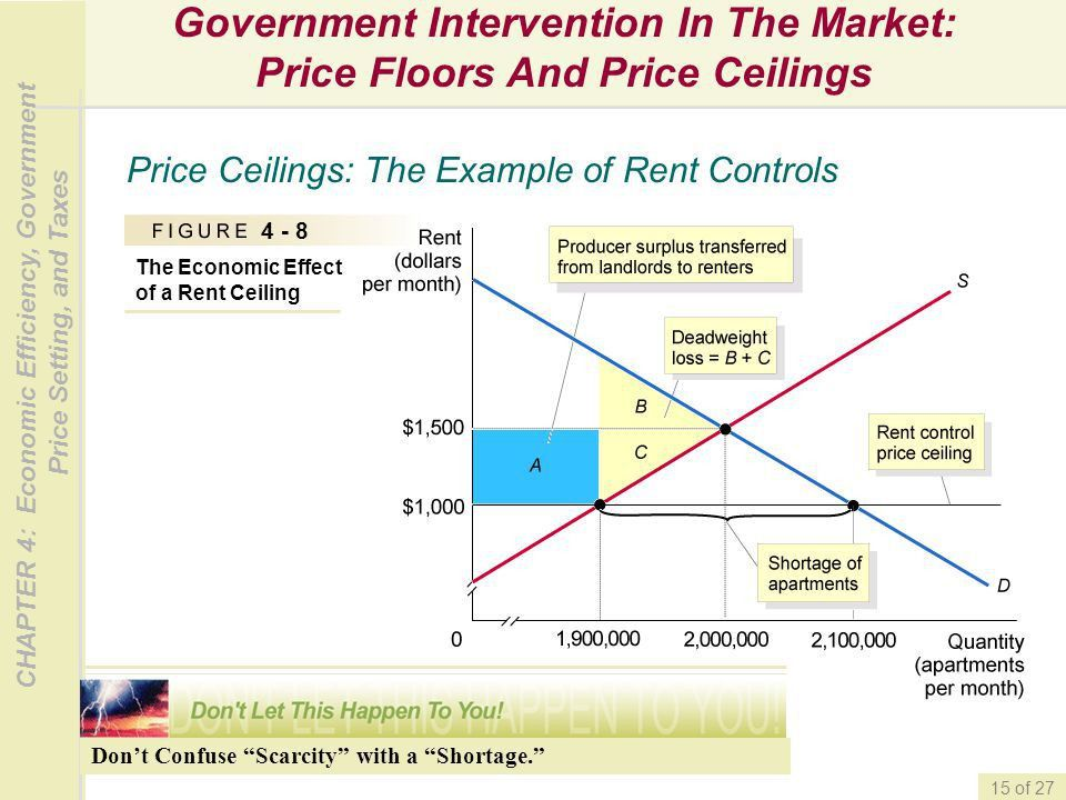 Economic Efficiency, Government Price Setting, and Taxes - ppt ...