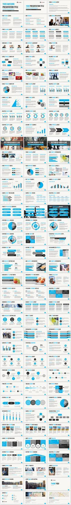 Pitch Deck PowerPoint Template | Pitch, Decking and Graphics