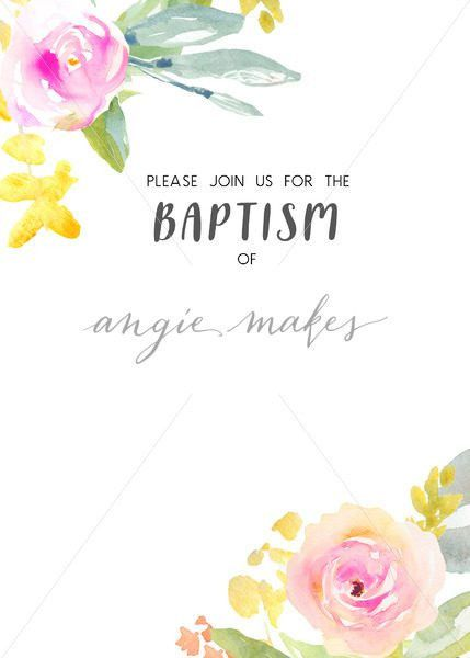Invitation Template Download. Baptism Invitation Download - Angie ...