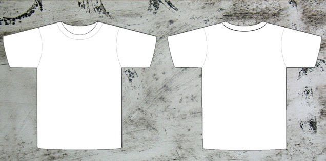 T-shirt Template Photoshop | Free Download T Shirt Template