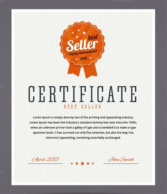 29+ Fabulous Achievement Certificate Templates & Designs | Free ...