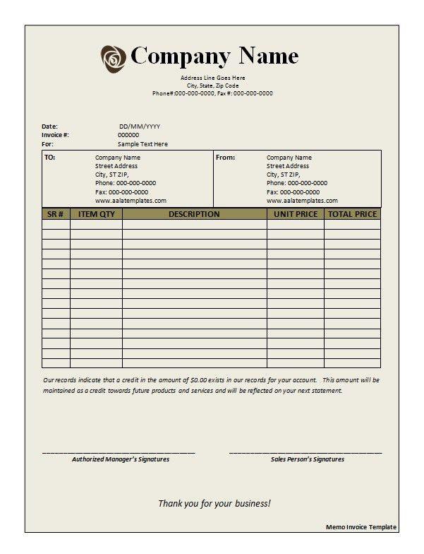 Deposit Invoice Templates. Receipt Of Deposit Tax Deposit 10+ ...