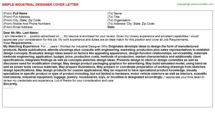 graphic design cover letter example. cover letter designs best ...