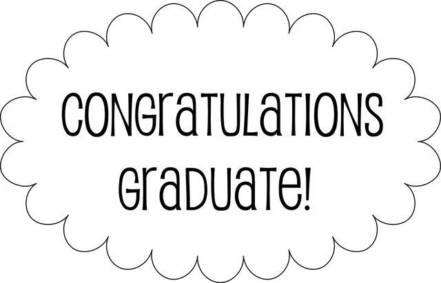5 Best Images of Graduation Congratulations Templates Printable ...