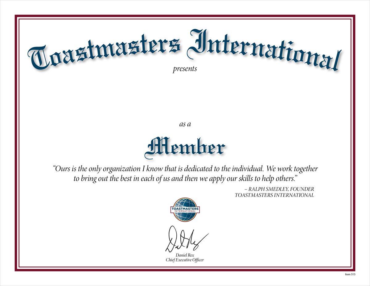 Membership Certificates Templates