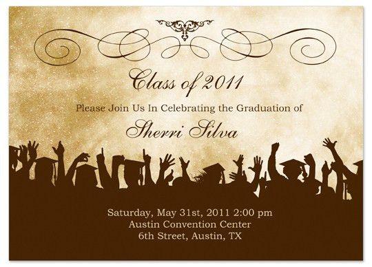 Sample Graduation Invitation Cards - Festival-tech.Com