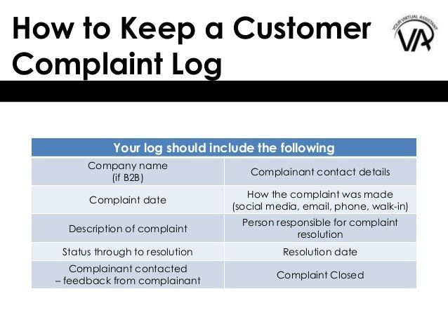How to Keep a Customer Complaint Log - and Why!