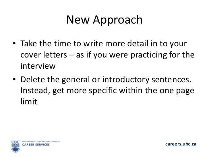 Crash course: Writing a Winning Application