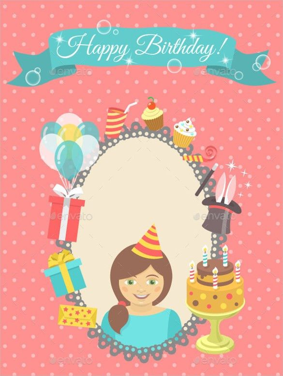 Blank Birthday Templates – 20+ Free PSD, EPS,In Design Format ...